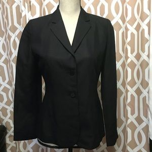 Casual Corner Annex Black Blazer Size 2